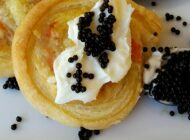 Recipe: Salmon in Puff Pastry with Cream & Lumpfish Caviar