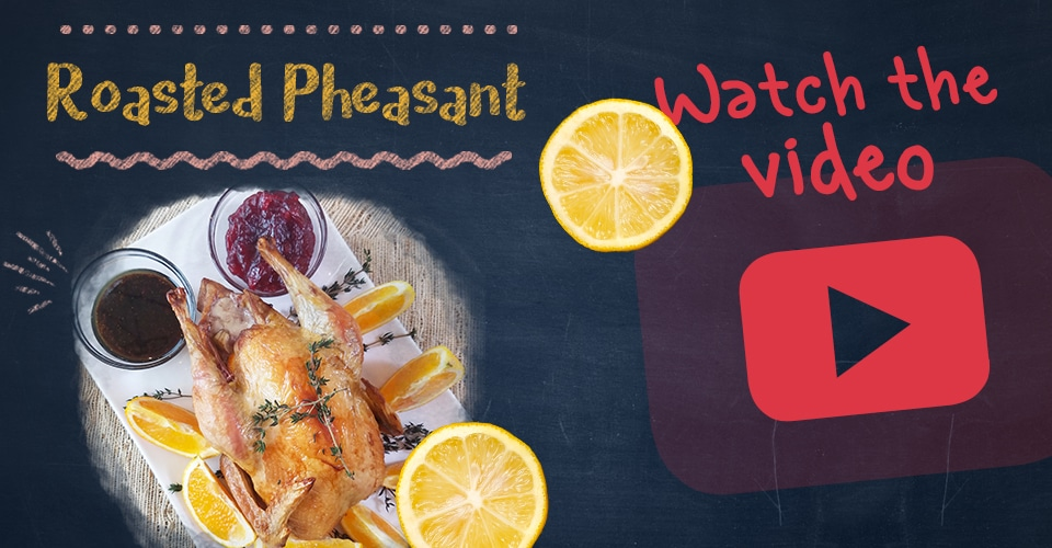 LeBootCamp Roasted Pheasant Recipe Video