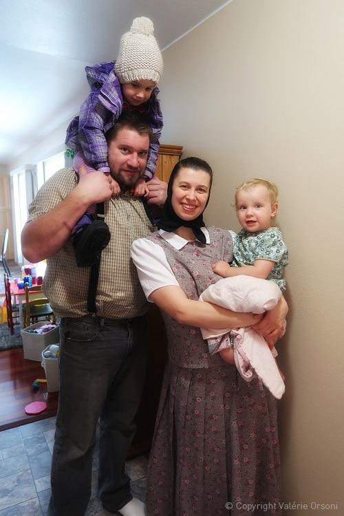 Hutterite family