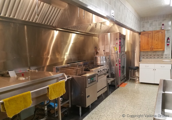 Hutterite colony kitchen