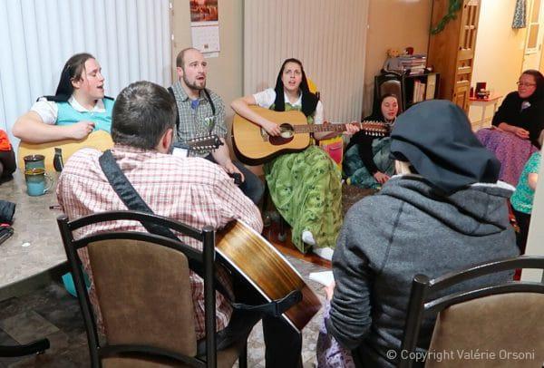 Hutterite musical evening
