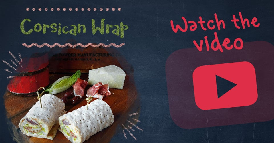 Corsican Wrap Recipe Video