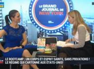 Mon interview dans Le Grand Journal de New York sur BFM TV