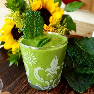 Kale Banana Smoothie LeBootCamp