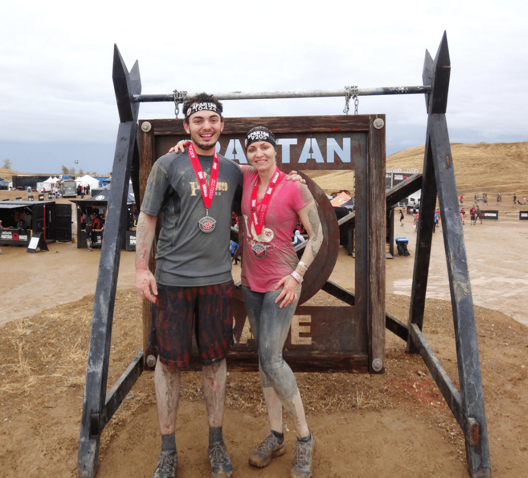Spartan Race finish