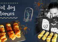 Nouvelle recette filmée : Hot Dog Momies