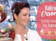 Valérie Orsoni dans l'émission d'Amanda