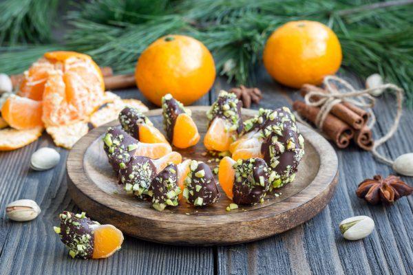 Chocolate Pistachio Clementines