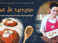 Recette filmée : Blinis de Sarrasin