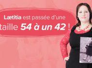 Témoignage : Lætitia est passée d'une taille 54 à une taille 42 !
