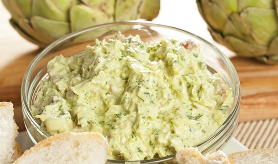 Artichoke Guacamole recipe from LeBootCamp.com