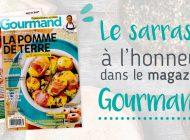 Le sarrasin à l'honneur dans le magazine Gourmand !