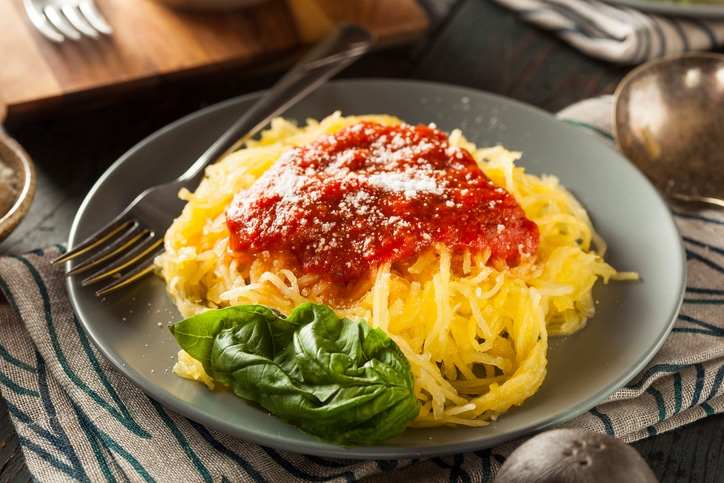 Spaghetti squash - courge spaghetti - Valérie Orsoni - LeBootCamp