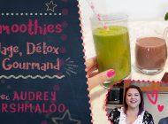 Recettes filmées : 3 idées de smoothies !