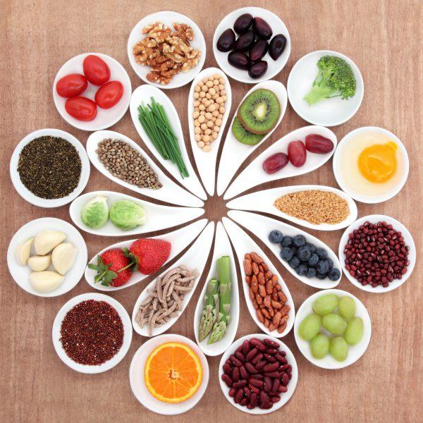 Antioxidant rich foods