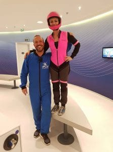 Valerie Orsoni at iFly
