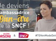 Je deviens l'ambassadrice Bien-Être de la SNCF !