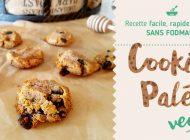 Cookies Paléo Vegan – Recette facile, sans Fodmaps, rapide et saine