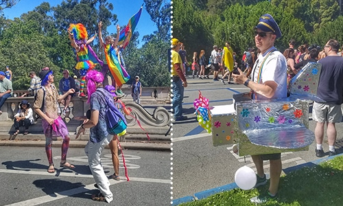 Bay to Breakers costumes