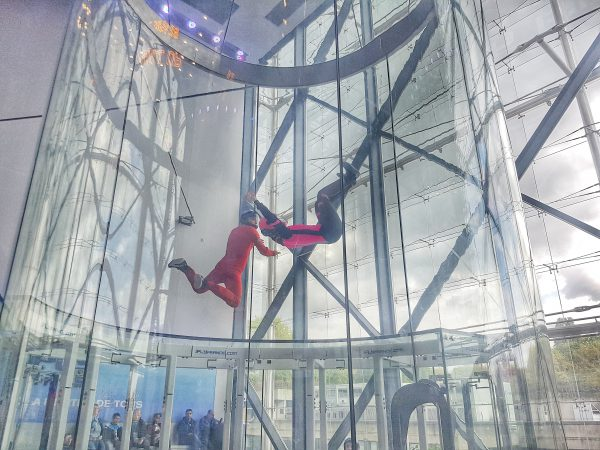 valerie orsoni indoor skydiving glass tunnel