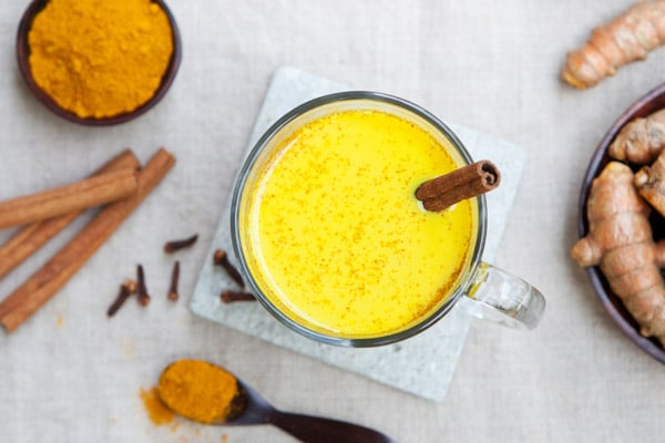 Golden Coconut Milk - liver cleanse