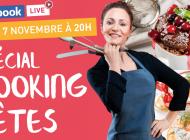 Venez cuisiner en live avec Valérie Orsoni