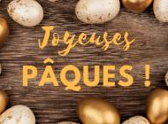 Croquants chocolat noisettes – la recette de Pâques