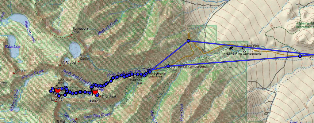 valerie orsoni whitney GPS map