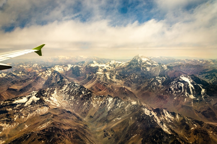 Aconcagua from a plane