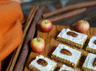 Zéro sucre, keto : Barres cheesecake citrouille