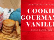 Cookies Gourmands Vanille Keto (sans sucre)